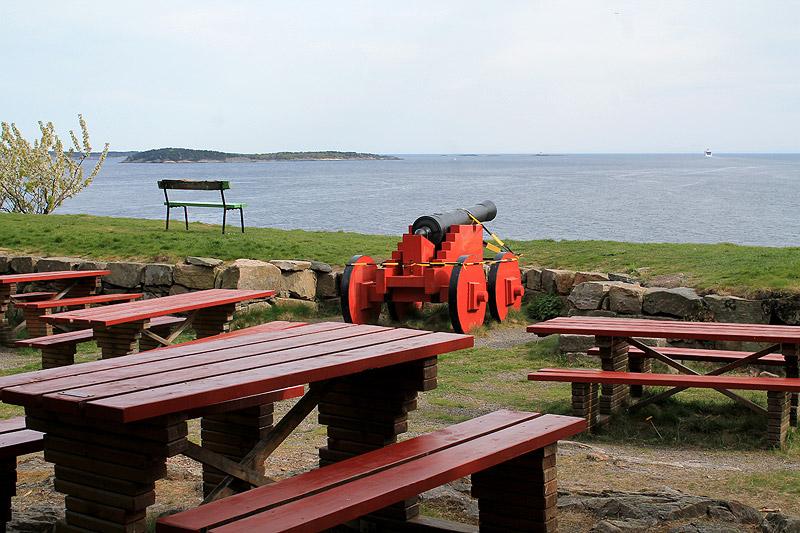 Cafetería al sur de Odderøya