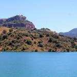El pantano y el paisaje del Priorat