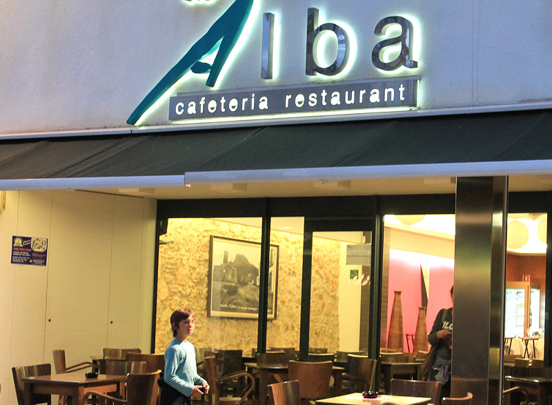 Restaurante Alba, Estartit