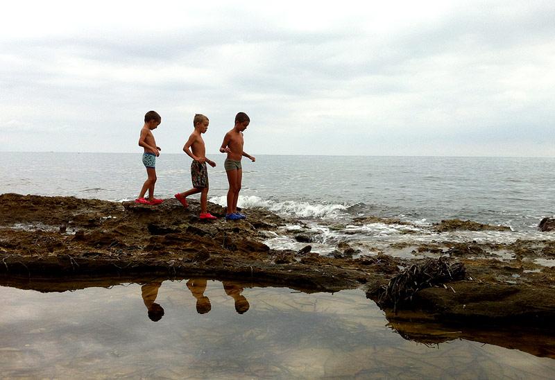 Nuestros tres exploradores preferidos
