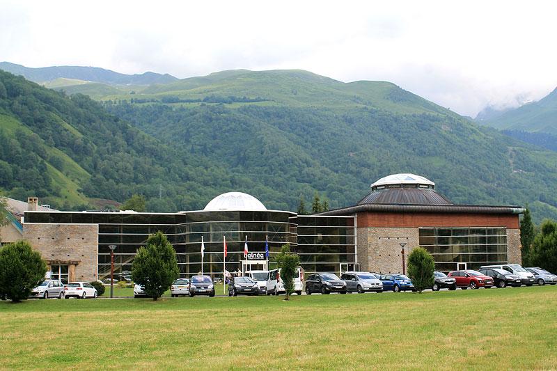 Complejo Balnéa, en los Altos Pirineos, Francia