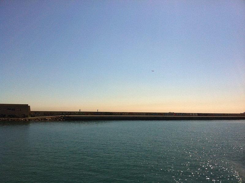 Espigón del Puerto de Barcelona