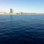 Fachada litoral de la ciudad de Barcelona