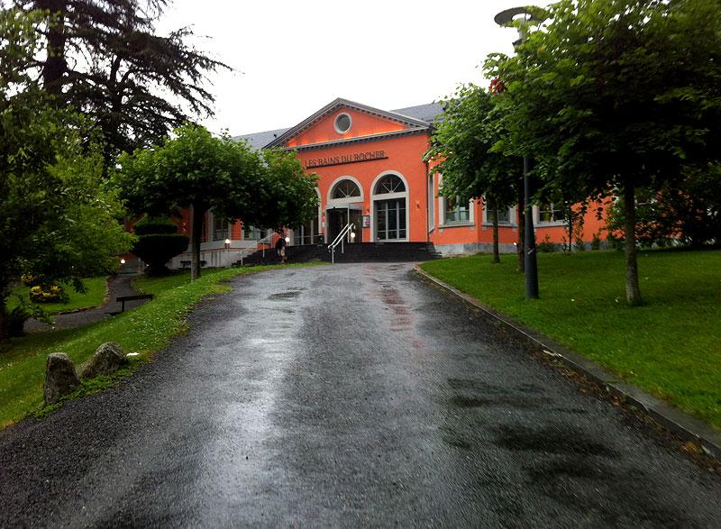 Camino de acceso a Les Bains du Rocher, Cauterets