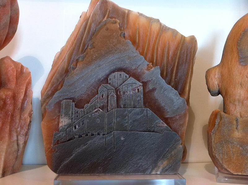 Figuras esculpidas con sal