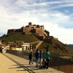 Vistas del castillo de Cardona