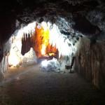 Interior de las minas de sal