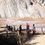 Explorando el paisaje de las minas de sal