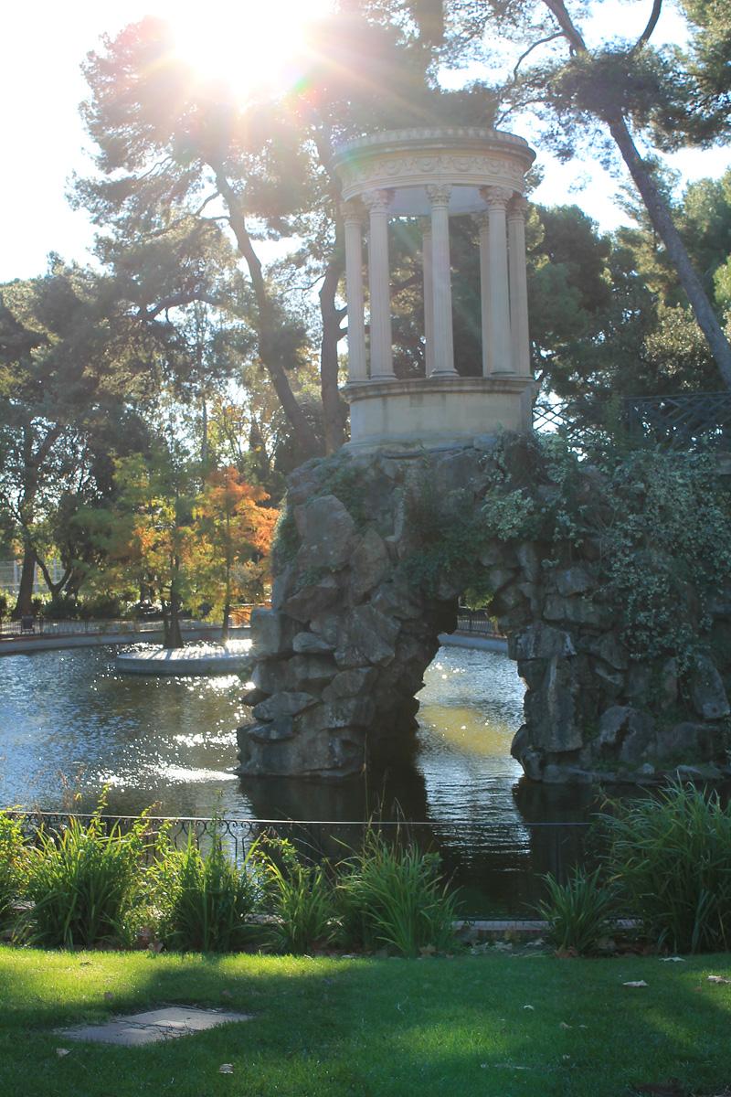 Glorieta en el Parque de Can Vidalet