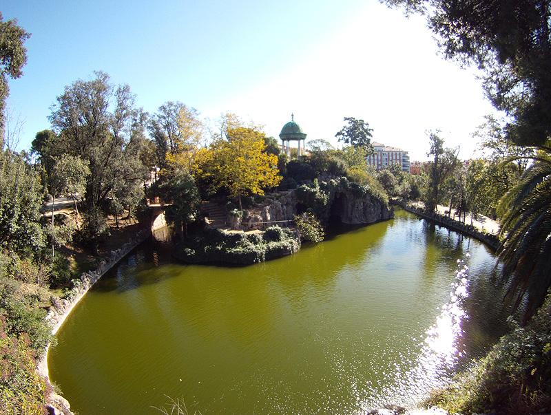 Lago en el Parque de Torreblanca