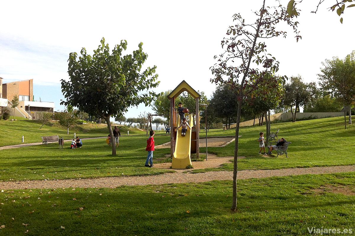 En el Vilar Rural hay mucho espacio para juegos