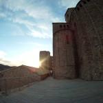 Atardecer en el castillo de Cardona