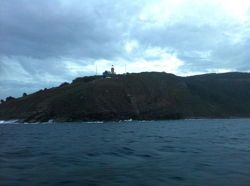 Faro de Matxitxaco en Bermeo