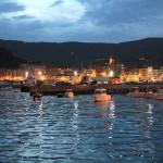 Puerto de Bermeo al atardecer