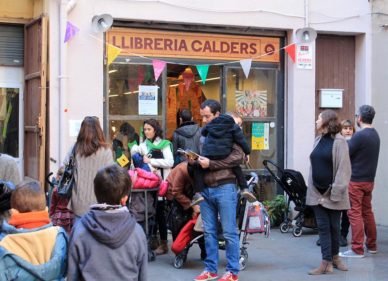 Exterior librería Calders