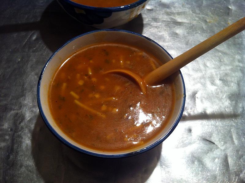 Sopa harira tradicional