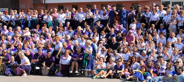 Foto de familia en Sardinera Eguna - Bizkaia Costa Vasca