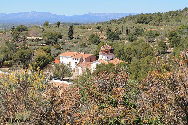 Vista de la Ermita del Remei