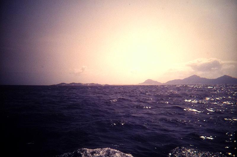 Navegando de São Nicolau rumbo a São Vicente, Cabo Verde
