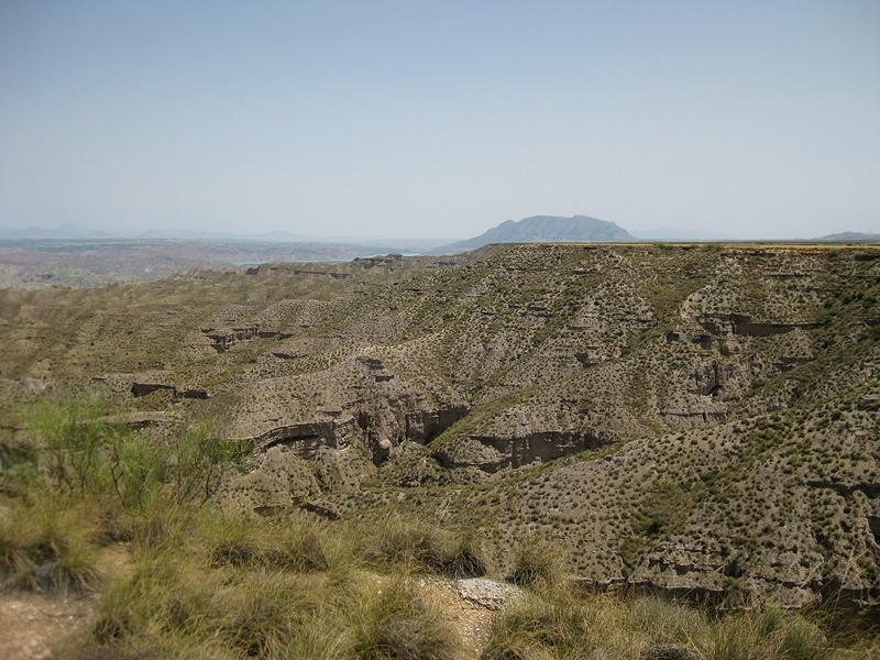 Los llamados badlands de Granada