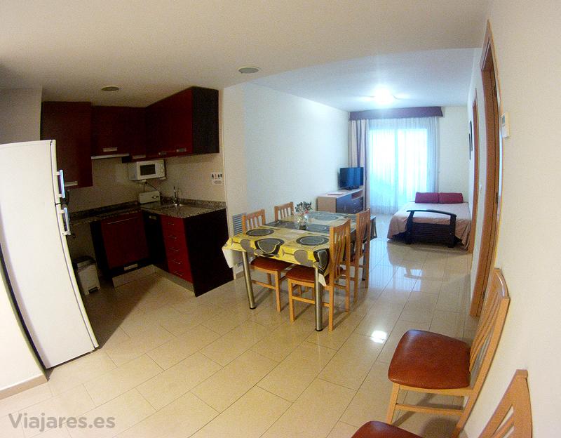 Apartamento familiar en Hotel Neptuno de Calella