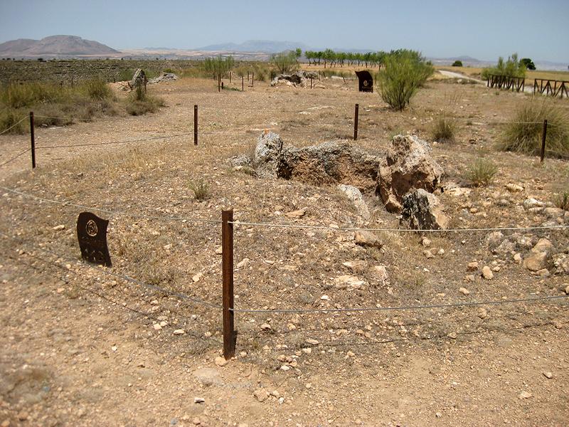 Restos megalíticos en Gorafe, Granada