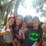 Disfrutando en familia en Calella
