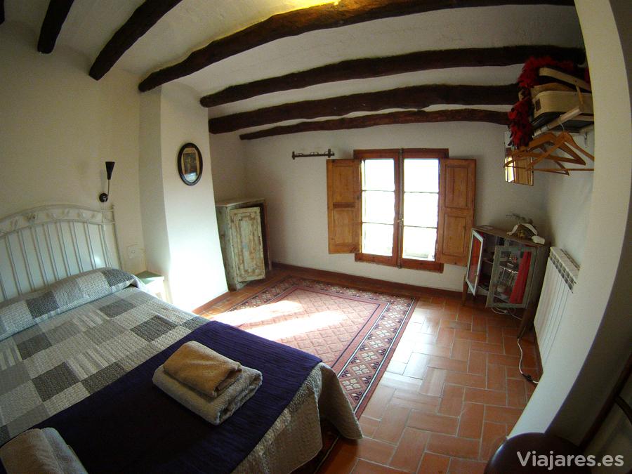 Habitación en la casa rural de Cal Pinyota, Bellprat