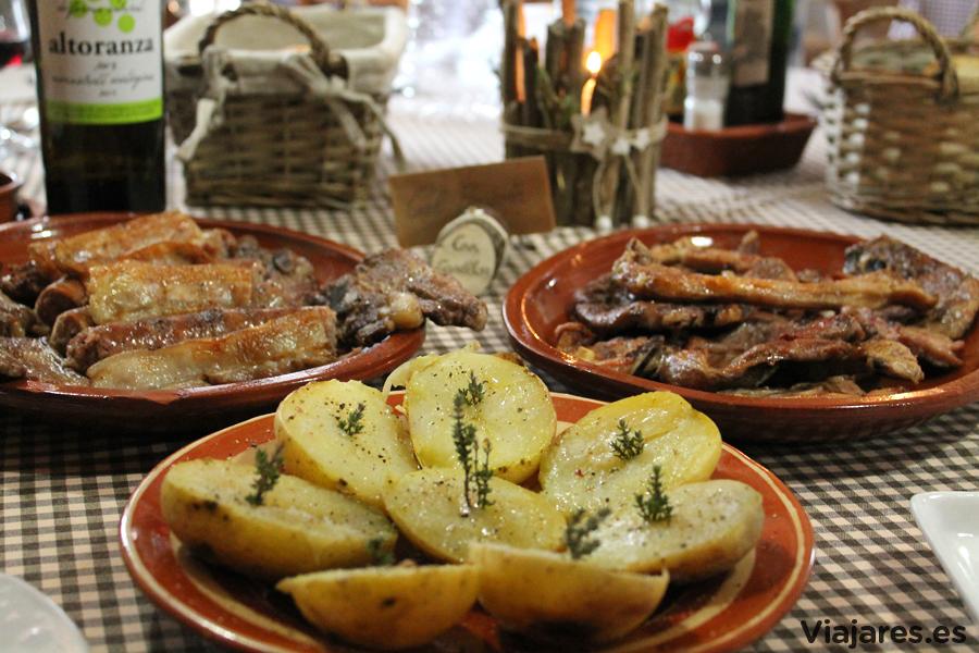Productos de proximidad absoluta en la propuesta gastronómica de Can Casellas