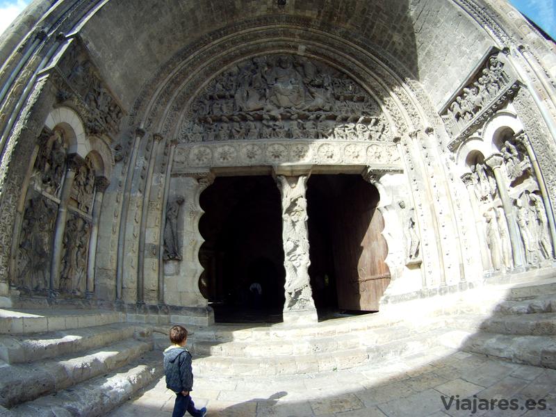 Pórtico de la Iglesia de la Abadía de Sanit Pierre de Moissac