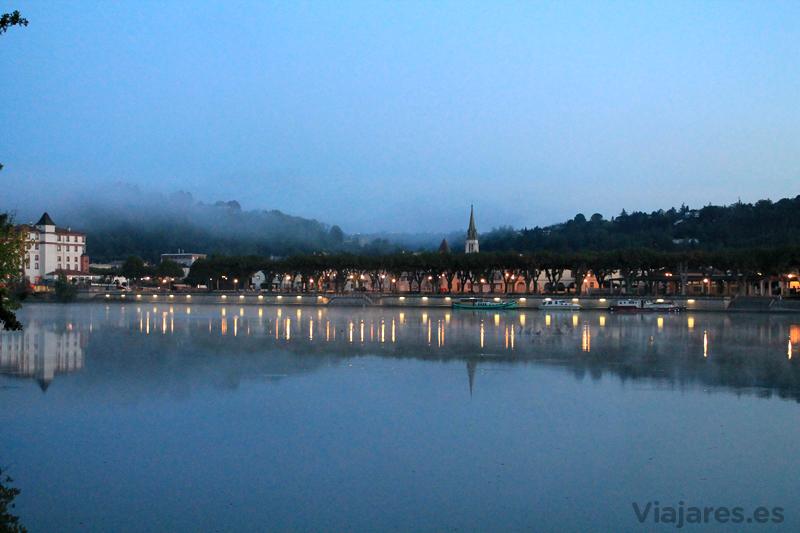 Moissac con las primeras luces del día, Midi-Pyrénées