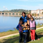 Moissac y el río Tarn en familia