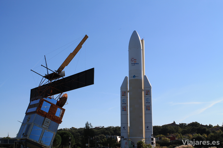 Cohetes, naves y satélites más cerca que nunca - Cité de l'espace