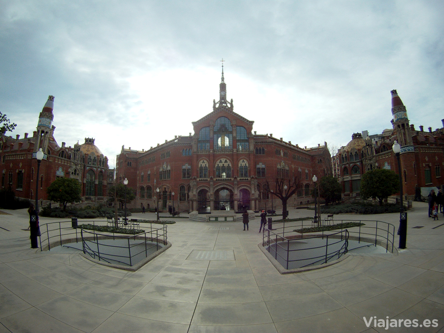 Recinto modernista del Hospital de Sant Pau