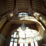 Interior de la gran sala del Edificio de la Administración