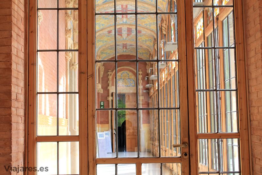 Vidrieras en el Hospital de Sant Pau