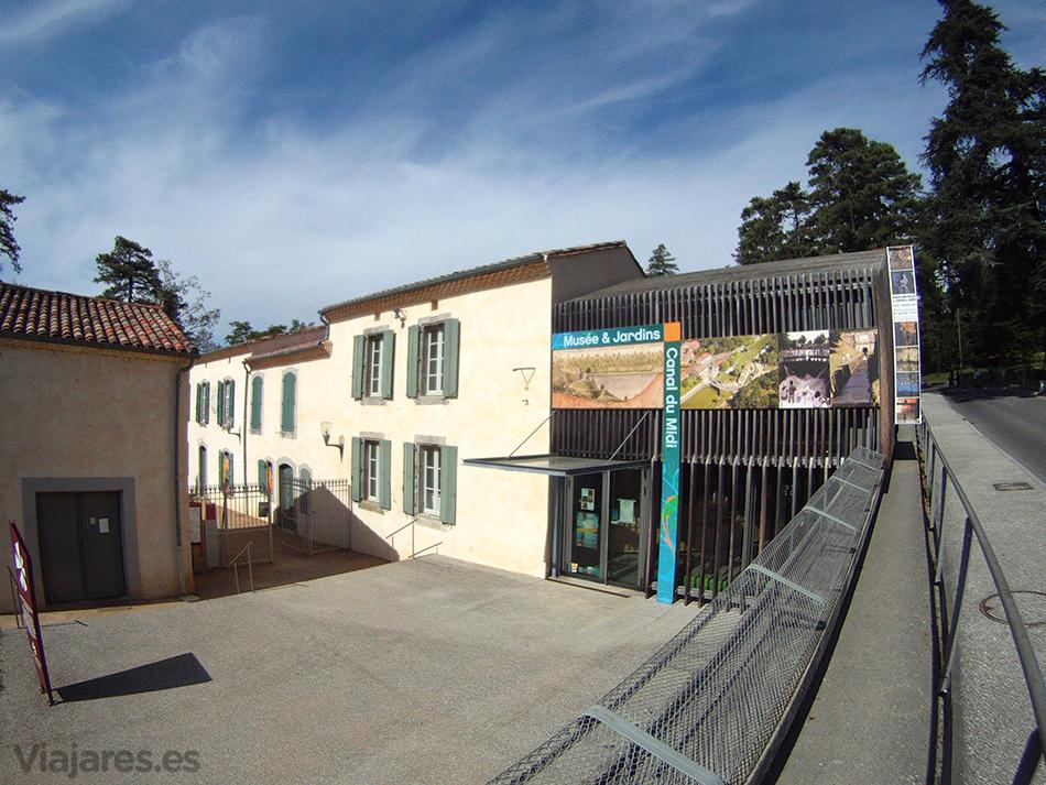 Entrada al Museo y Jardines del Canal du Midi en Saint Ferréol, Revel