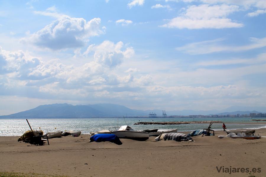Playa de El Dedo en Málaga