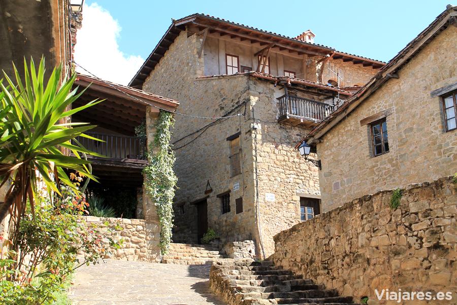 El Mallol es uno de los pueblos de la Vall d'en Bas