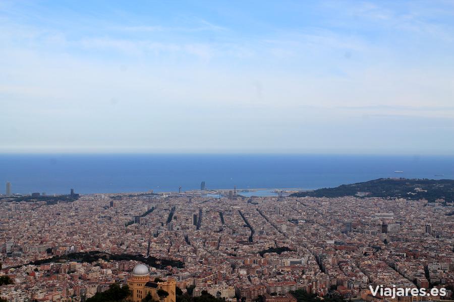 Las mejores vistas de Barcelona desde el Tibidabo