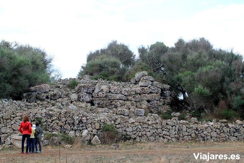 Restos de cultura talayótica en Menorca