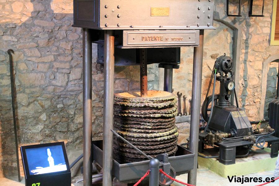 Centro de interpretación del aceite de Vandellòs