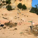 Nuestra excursión se inici en Els Hostalets, Albarca