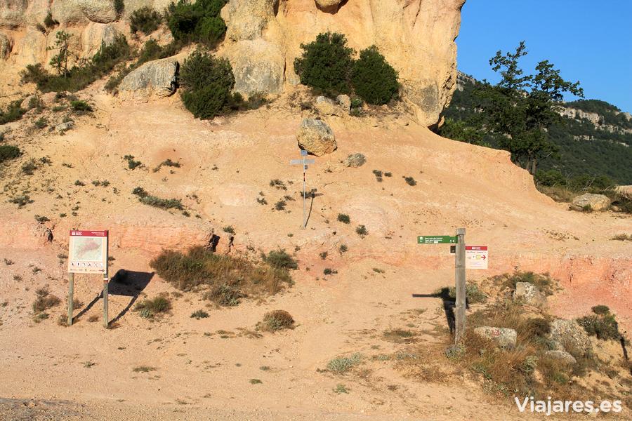 Nuestra excursión se inicia en Els Hostalets, Albarca