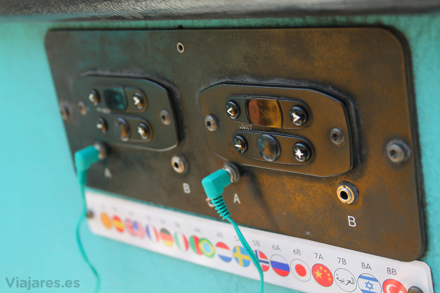 Audio en 16 idiomas a bordo del Bus Turístico