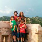 Equipo Viajares al completo en lo alto de Ca la Torre, Vandellòs