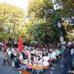 Ambiente en las calles de Múnich durante el Oktoberfest