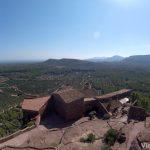 Panorama desde lo alto de la Ermita de la Mare de Déu de la Roca