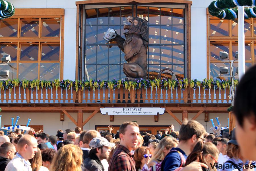 Pabellón de la cervecera Löwenbräu