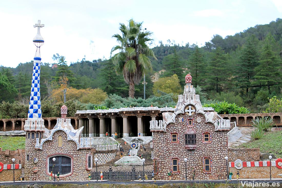 El Park Güell de Barcelona